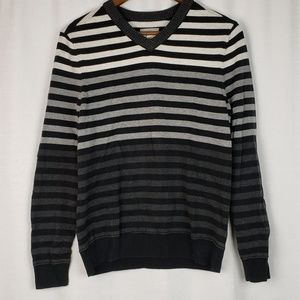 Public Opinion Striped Sweater Size Small